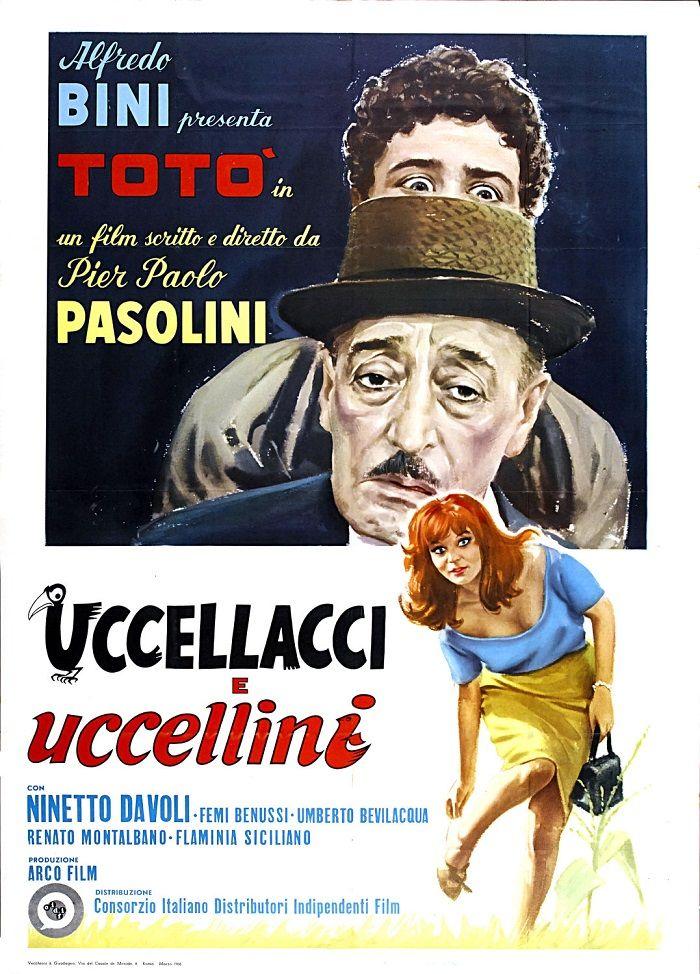 Gaviões e Passarinhos (Uccellacci, Uccellini) 1967 de Pier Paolo Pasolini