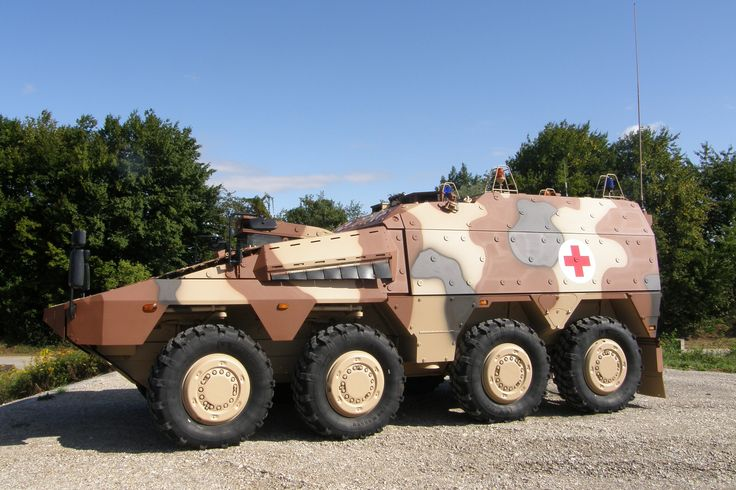 KMW Boxer Ambulance