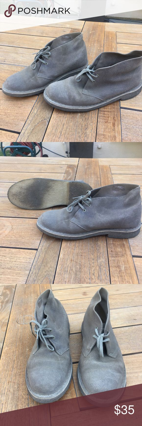 Original clarks desert boot, size 10 Original clarks desert boot, women's size 10 taupe. Worn once, comes in original box. Clarks Shoes Ankle Boots & Booties