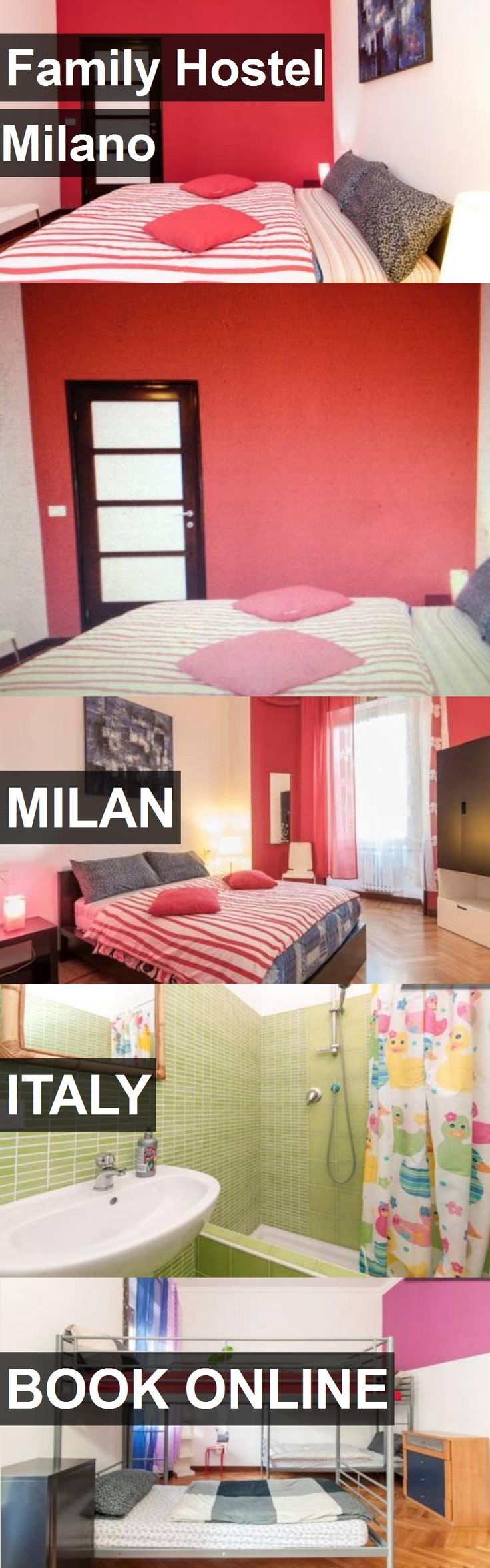 Family Hostel Milano in Milan, Italy. For more information, photos, reviews and best prices please follow the link. #Italy #Milan #travel #vacation #hostel