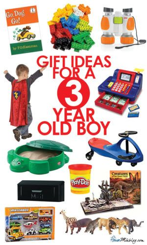Toddler toys: Present ideas for 3 year old boys