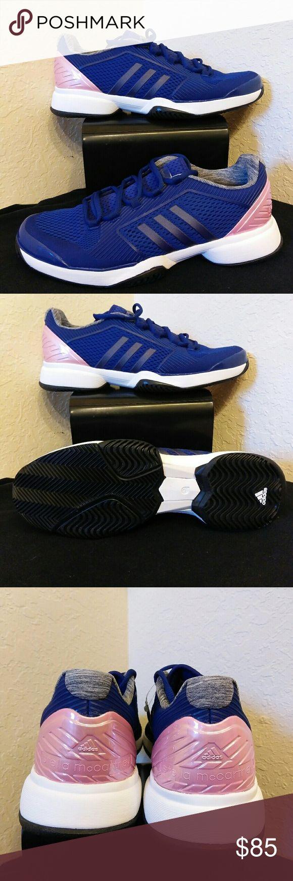 Stella Mccartney Adidas Blue Tennis Barricade BRAND NEW WITHOUT A BOX ADIDAS STELLA MCCARTNEY BARRICADE TENNIS SHOES. Adidas Shoes Sneakers