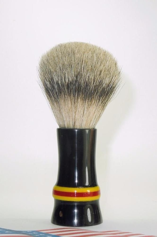 Buffalo Horn - Silver Tip Badger Hair Shaving Brush #Unbranded