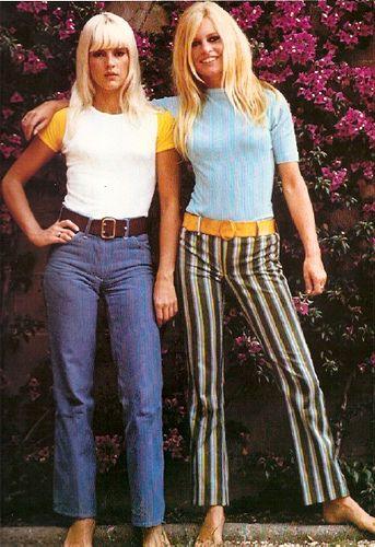 Sylvie Vartan and Brigitte Bardot: