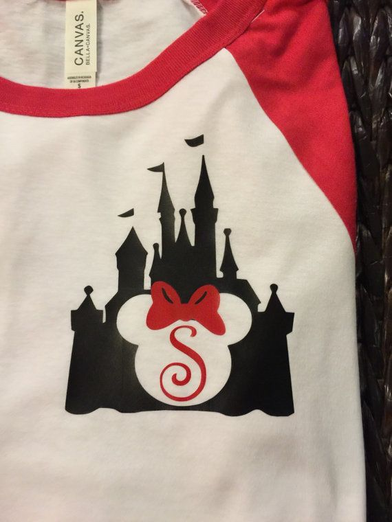 Free Shipping Disney Castle Minnie Mouse by SOUTHERNROOTSCOMP