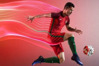 Portugal EURO 2016 Nike Home and Away Kits
