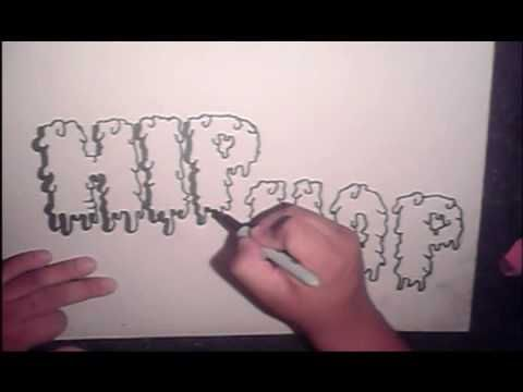 step by step how to draw graffiti letters  (HQ)  http://www.stepbystep.com/how-to-do-graffiti-letters-4179/