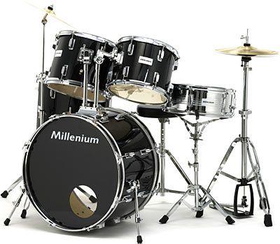 Millenium MX222BX Standard Set BK Stort trommesæt ala dette