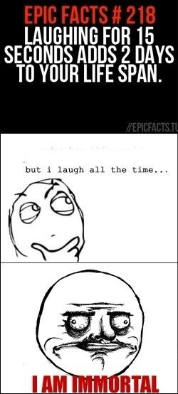 """Something I would say """" but I laugh all the time"""" lol"""