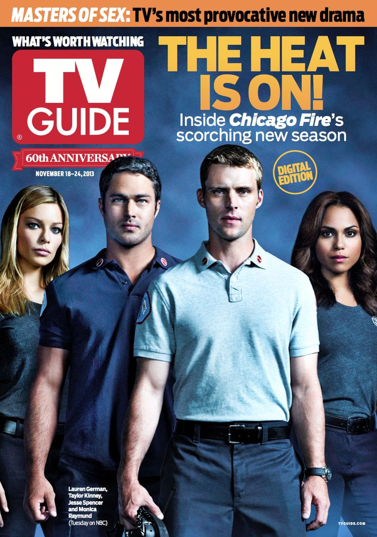 Happy #ChicagoFire Day! To celebrate we're unveiling the new TV Guide Magazine cover.