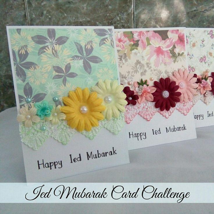 Mama Arkananta: [Card Making] Ied Mubarak Card Challenge