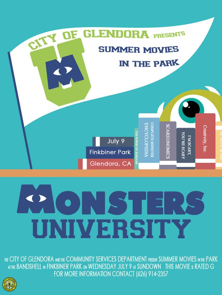 2014 Summer Movie in the Park | Monsters University