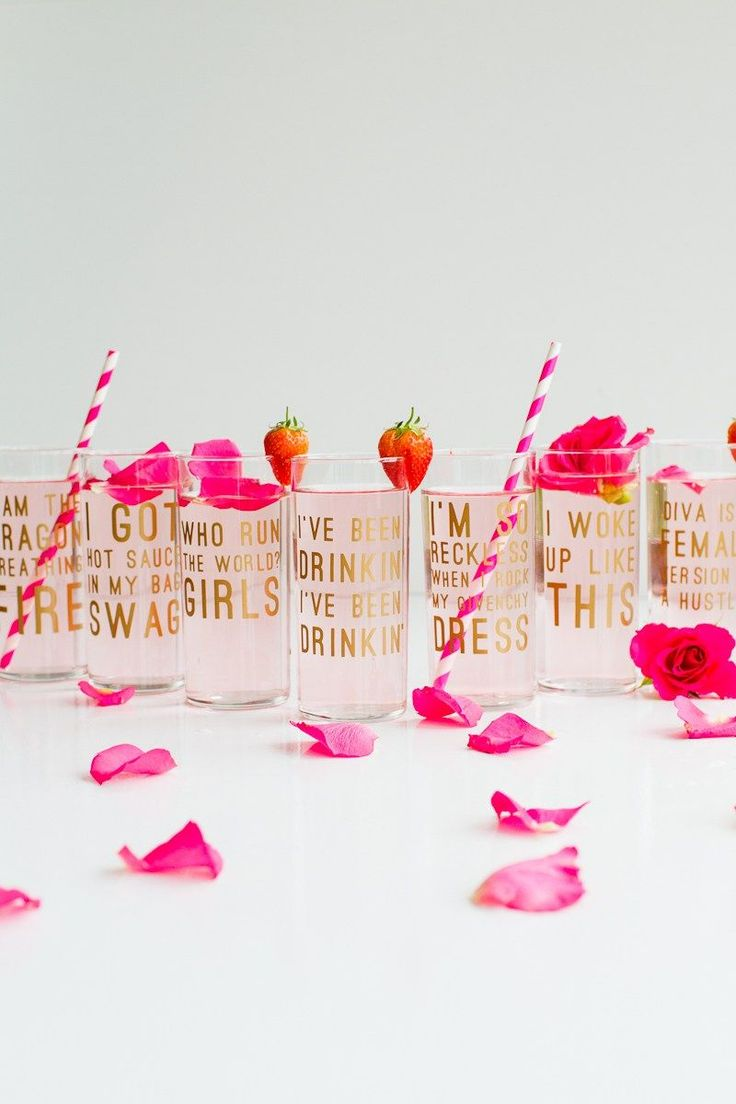 funny bachelorette party sayings for invitations%0A Bachelorette party favor idea  Beyonce lyric glasses with fun straws   Courtesy of Kayla u    s Five