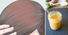 Como eliminar os cabelos branccaos naturalmente sem usar tintura   Cura pela Natureza