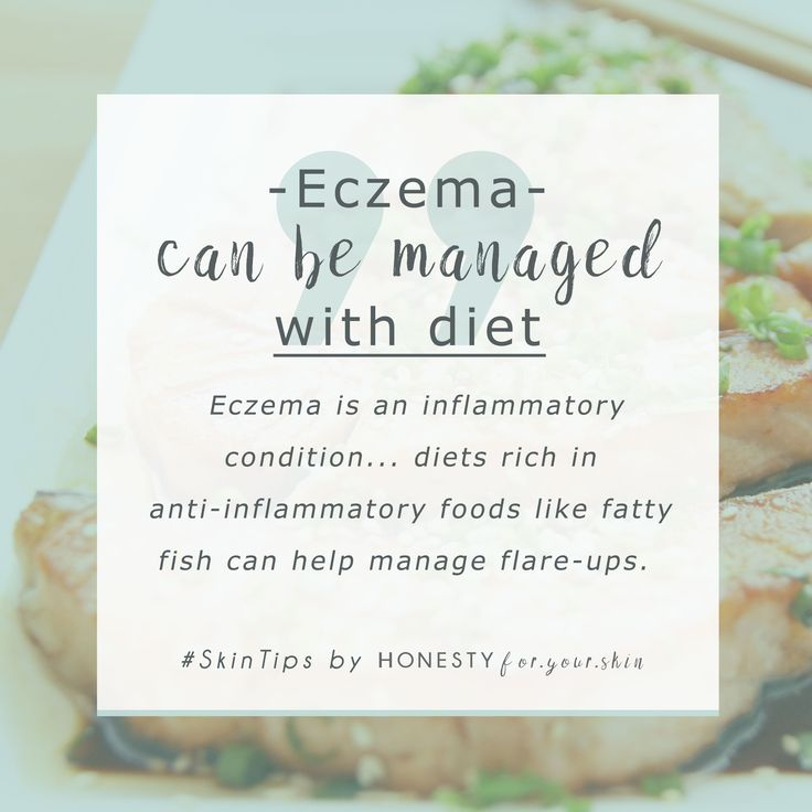 Eczema is an inflammatory skin disorder that is frustrating, itchy and chronically soul sucking. Skincare can help manage eczema symptoms however they're best confronted through your diet. A great place to start treating your eczema by diet is to up your