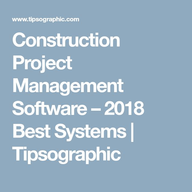 The  Best Construction Project Management Software Ideas On