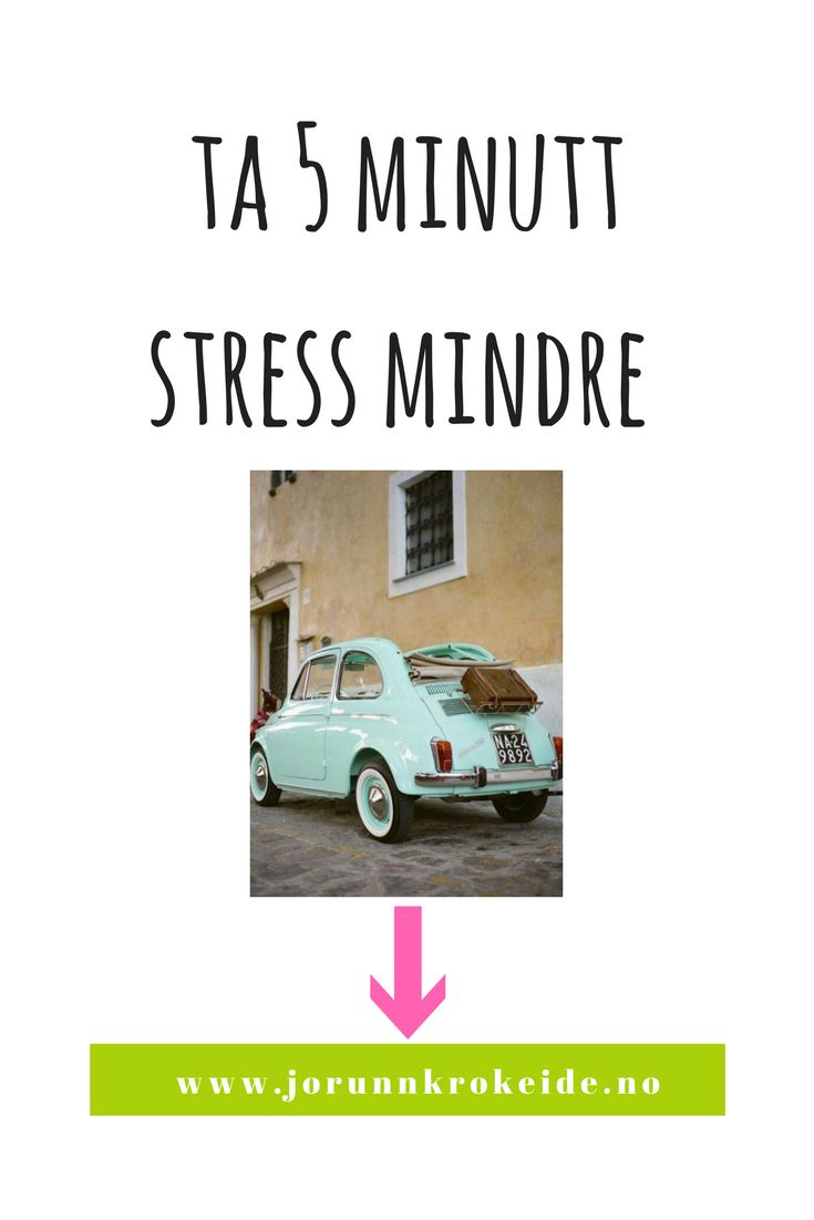 Hvordan i all verden kan kun 5 minutt om dagen hjelpe på stress og i tillegg gi oss større klarhet? Spesifikt skal vi snakke om stress.  5 om dagen for stress! Det er ikke grønnsaker og frukt vi snakker om :)