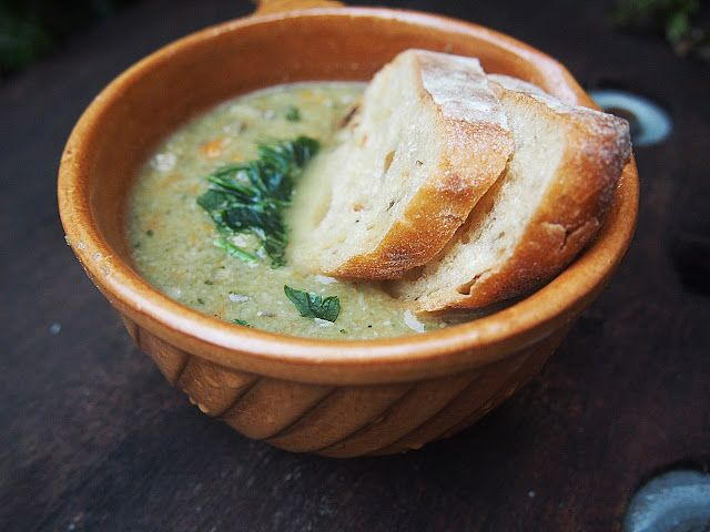 Zupa krem z zpieczarek  #soup #vegan #recipes #przepis #zupa #mushroom #pieczarki