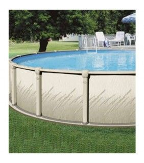 15' Round Atrium Above Ground Pool with Liner and Skimmer