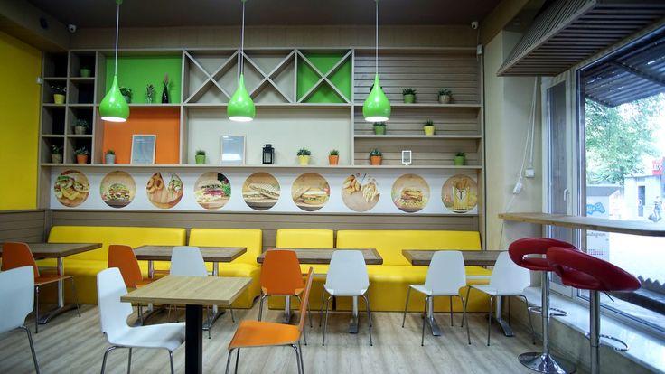 Дизайн интерьеракафе Garry's в Симферополе создавался в фирменном стиле сети Garry's. Площадь помещения ресторана63 м2 н , рассчитано на 38 гостей и...