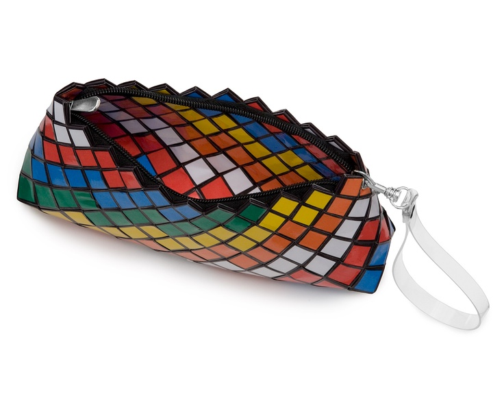 PAPER CUBIC CLUTCH | Rubik's, Cube, Clutch, Purse, Handbag | UncommonGoods