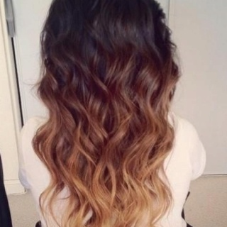 Chestnut Brown To Golden Blonde Ombre Highlights You Are