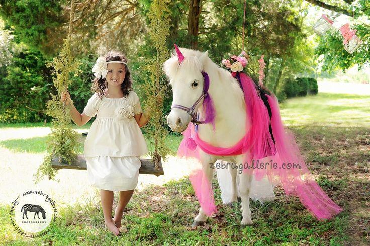 Unicorn Mini Session Children Photography Photo Shoot