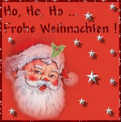Animated Gif of Frohe Weihnachten