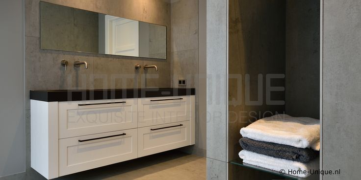 Badkamer en badmeubelen by Home-Unique Binnenhuisarchitectuur / Interior Design