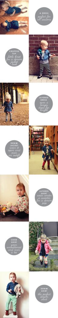 bang for buck: denim dress