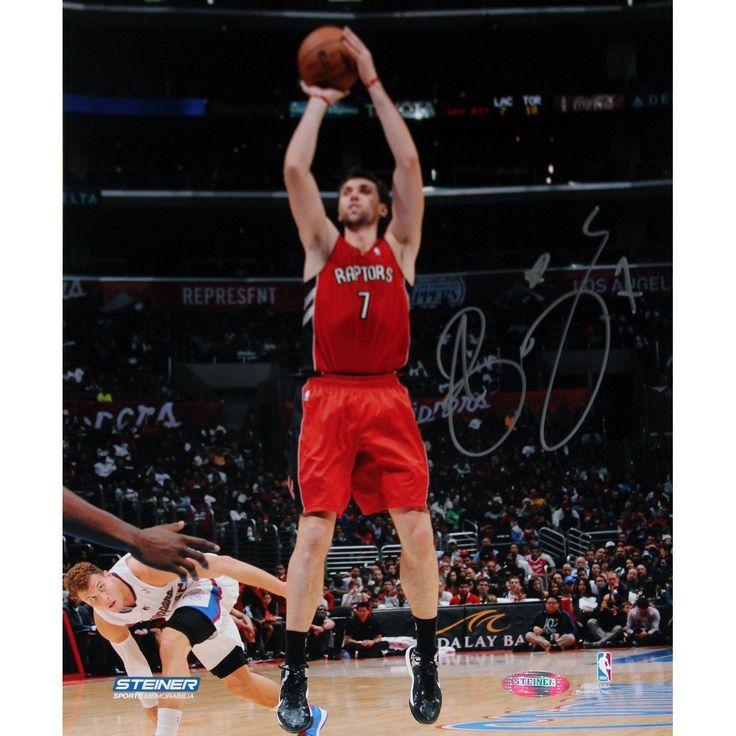 Andrea Bargnani Toronto Raptors Jump Shot Signed 8x10 Photo (Getty 158094072)