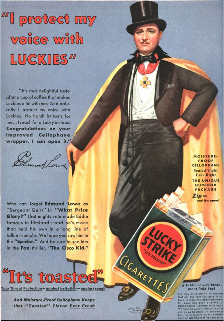 ubelievable vintage ads | Unbelievable Vintage Cigarette Ads