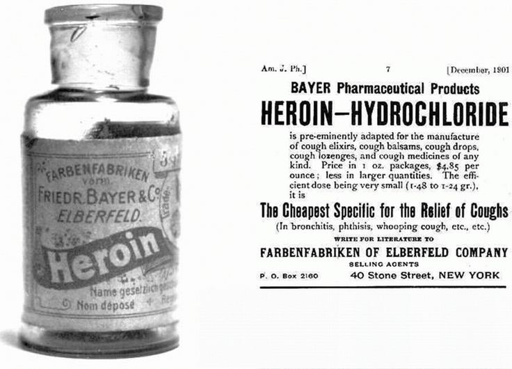 This rather hardcore cough medicine from 1901.