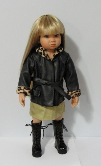 $25 - 1 left.  Streetsmart outfit - jacket, khaki skirt, and boots.