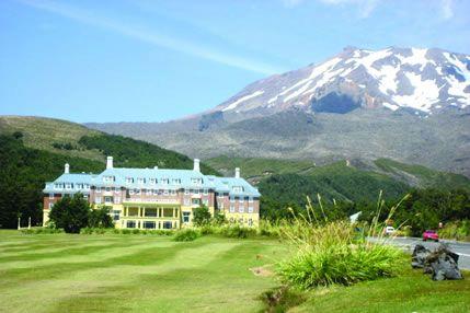 Chateau Tongariro Hotel, Whakapapa