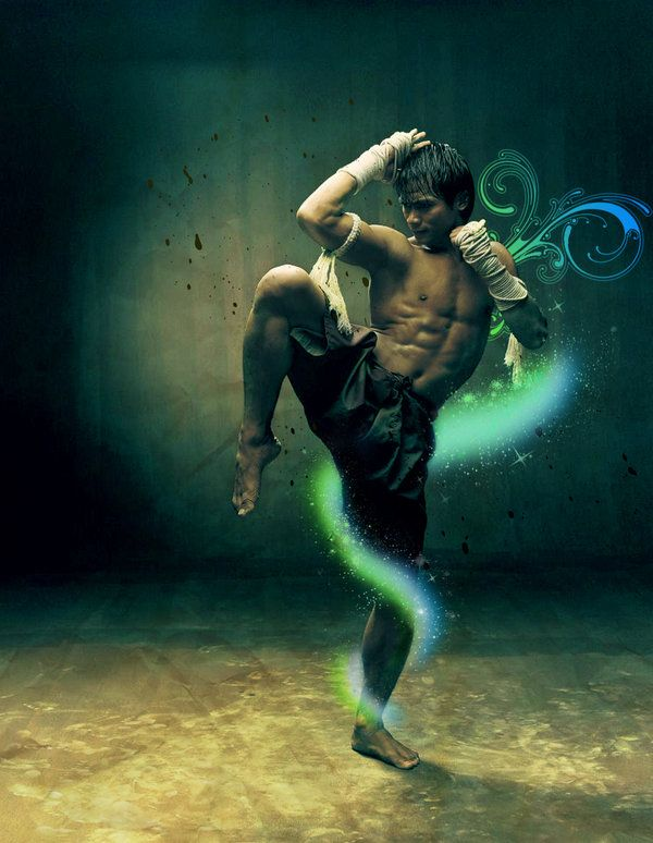 Tony Jaa…sporting a healthy lifestyle...it's great when you can mix in a sport that you love, with your career and life..:)