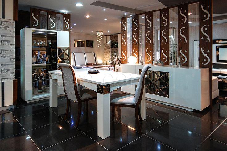 Modern Yemek Odası Takımı, Gold #mobilya #beysmobilya #koltuk #klasik #country #sofa #nubuk #köşekoltuk #furniture #furnituredesign #interior #icmimar #yemekodasi #avangarde #wood #marcelo #darkblue #tasarim #lekoltuk #modoko #koltuktakimi #yemekodasi #yatakodasi #otantikyatakodasi #2017yatakodasi #adamobilya #yalimobilya #retromobilya #modernyemekodasitakimi