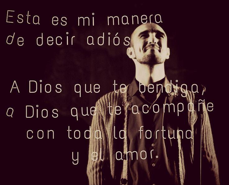 A Dios, Abel Pintos.