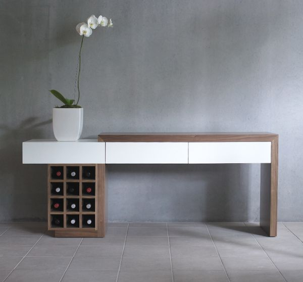 Sometimes you need all the storage you get. Great idea. Functional and modern.