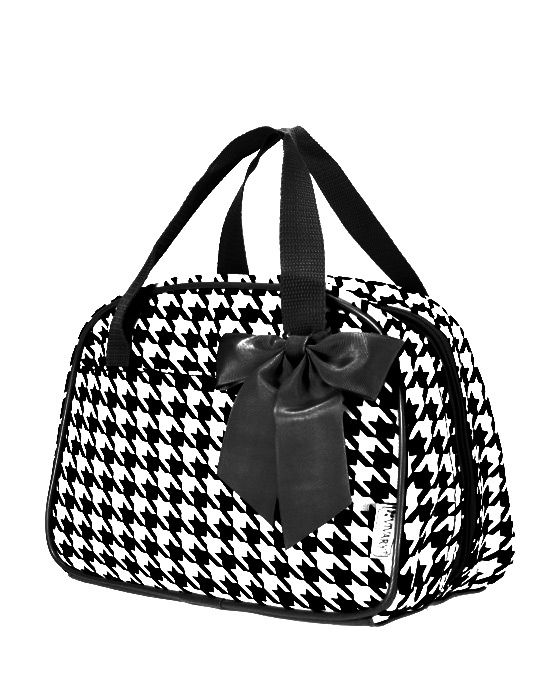 Houndstooth Fashion Lunch Purse-Monogrammed Stylish Lunch ...