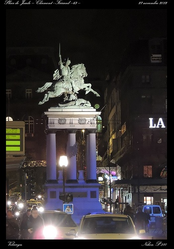Clermont - Ferrand -63 - by night