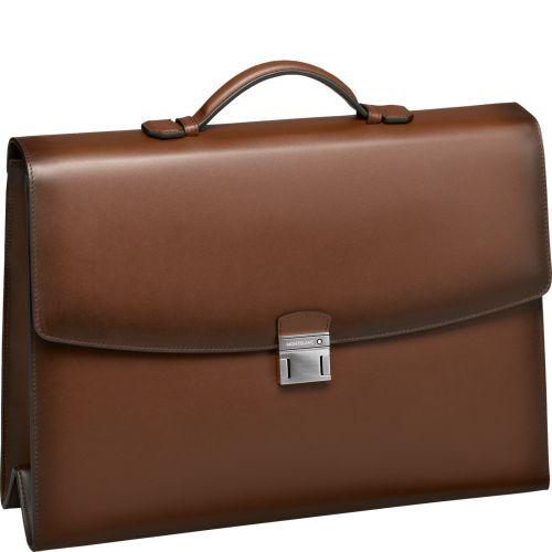 Meisterstück Selection Sfumato Single Gusset Briefcase