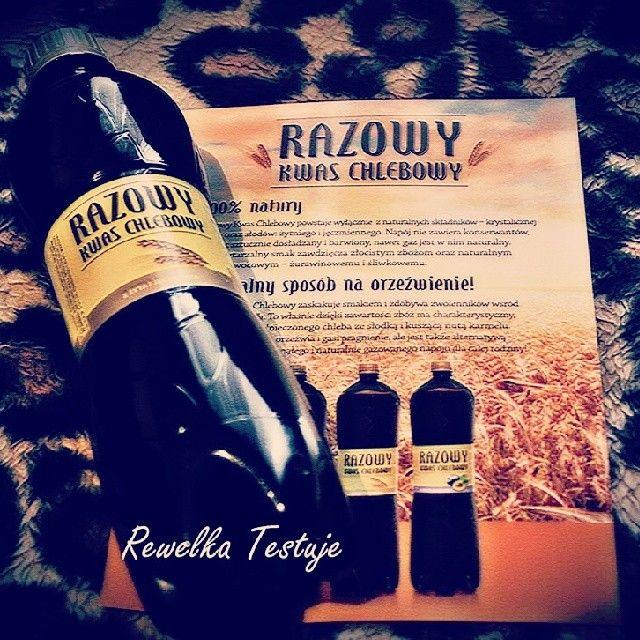 Pierwsze buteleczki i ulotki Razowego Kwasu Chlebowego rozdane :) http://instagram.com/p/olOIC9CNZ2/