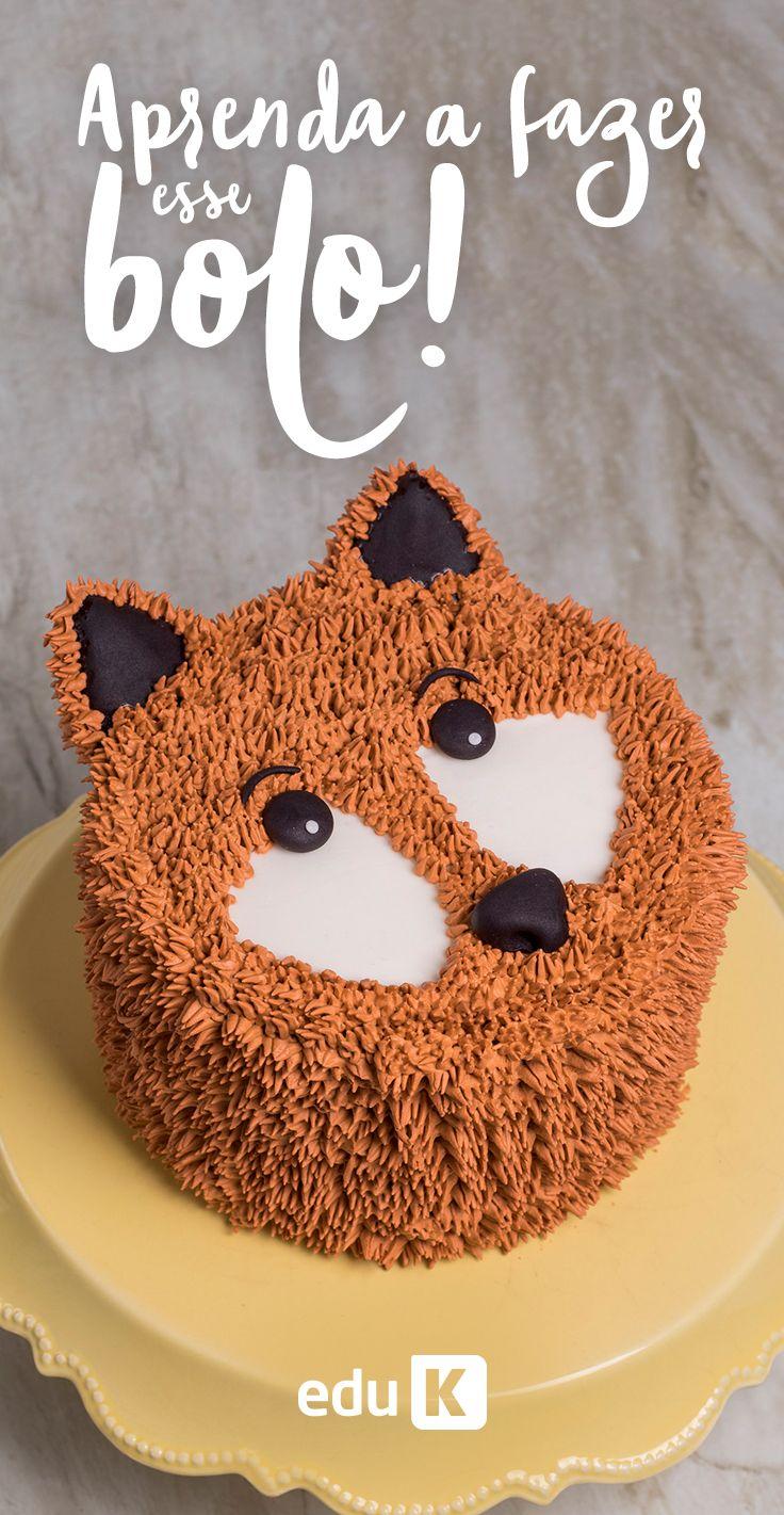 Aprenda o passo a passo deste bolo clicando na imagem :)