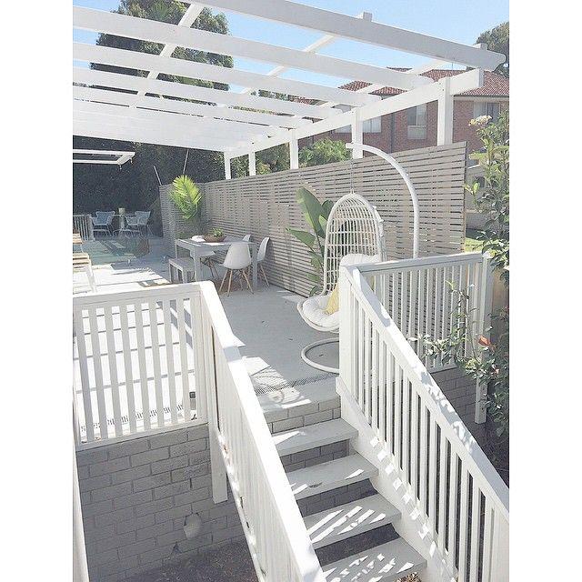back deck balustrade