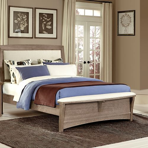 Chambers King Upholstered Bench Bed Costco 1000 House