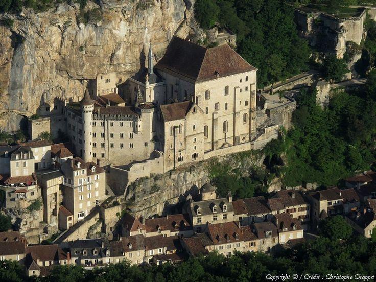 Photo aérienne de Rocamadour - Lot (46)