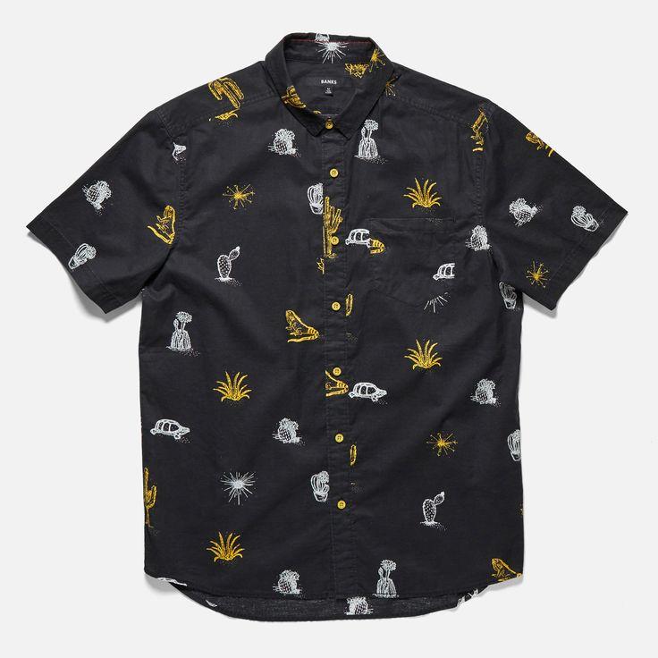 Cactus S/S Woven Shirt