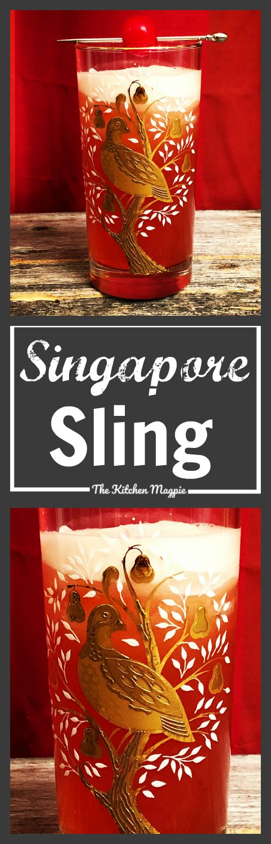 How to make a great Singapore Sling!