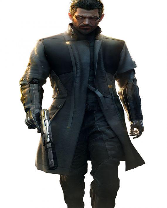 Adam Jensen Deus Ex Mankind Divided Game Coat